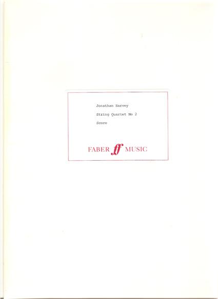 Image for String Quartet No. 2