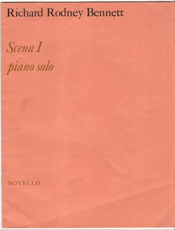 Image for Scena I for Piano Solo