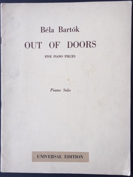 Image for Out of Doors - Five Piano Pieces