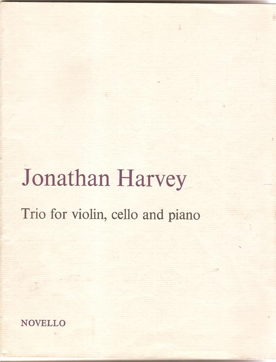 Image for Trio for Violin, Cello and Piano