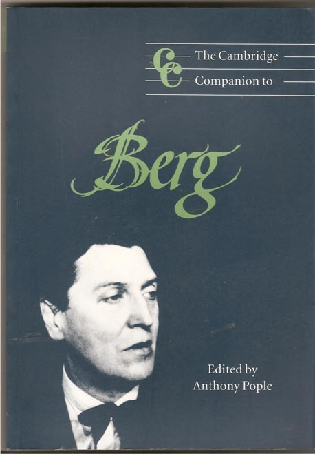 Image for The Cambridge Companion to Berg