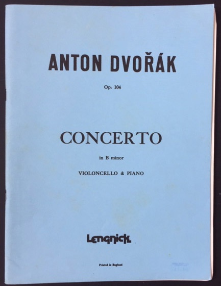 Image for Concerto in B Minor for Violoncello & Piano - Op.104