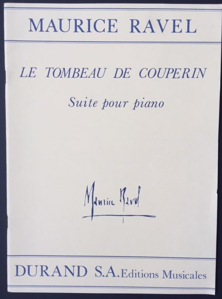 Image for Le Tombeau De Couperin - Suite Pour Piano