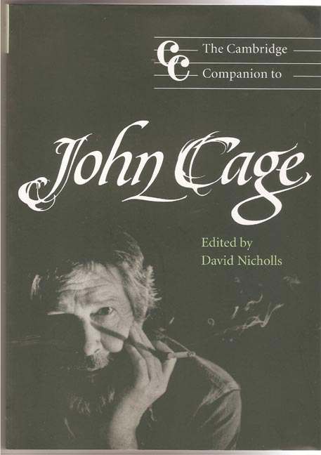 Image for Cambridge Companion to John Cage