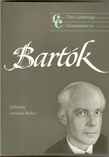 Image for The Cambridge Companion to Bartok