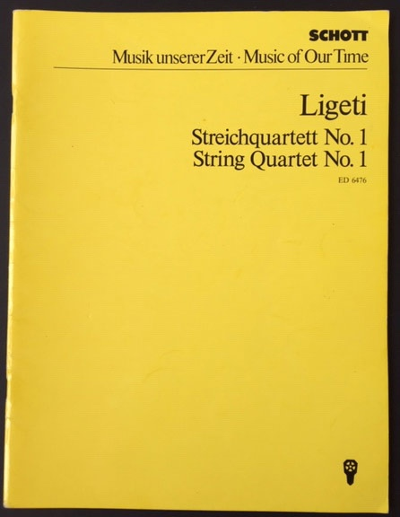 Image for Streichquartett No 1 (String Quartet No 1)   (Métamorphoses Nocturnes) (1953-54)