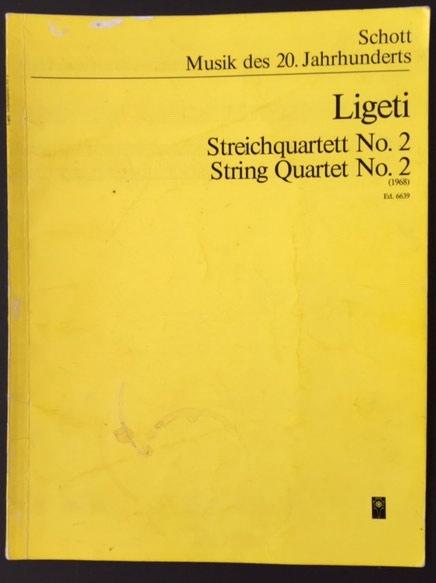 Image for Streichquartett No 2 (String Quartet No 2) (1968)