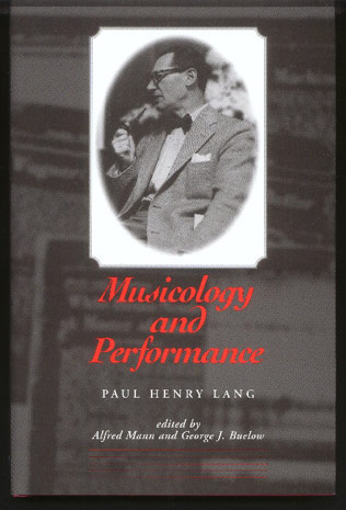 Image for Musicology and Performance