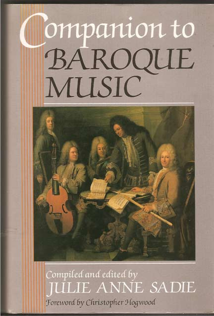 Image for Companion to Baroque Music