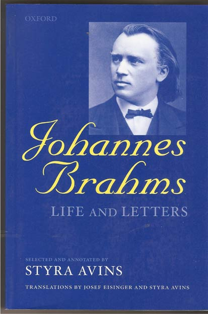 Image for Johannes Brahms. Life and Letters