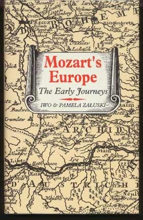 Image for Mozart's Europe. The Early Journeys