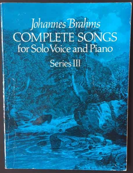 Image for Complete Songs for Solo Voice and Piano - Series III