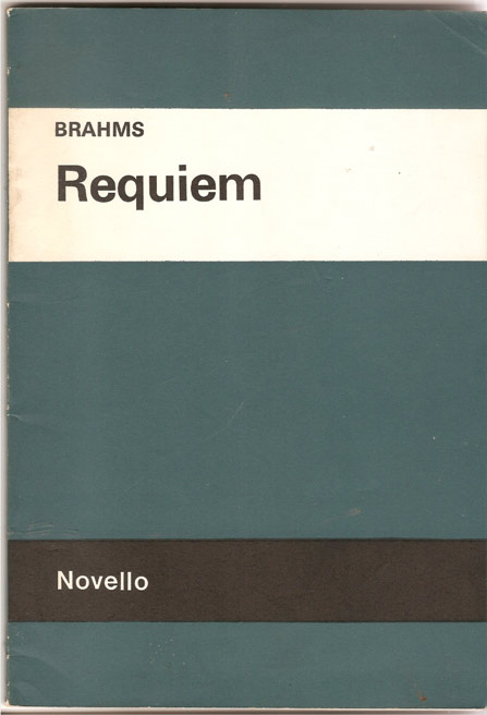 Image for Requiem. for Soprano and Baritone Soli, Chorus and Orchestra Op 45.
