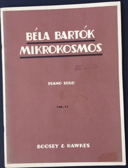 Image for Mikrokosmos - Piano Solo - Vol VI - No's 140 - 153. Progressive Piano Pieces.  (Winthrop Rogers Edition)