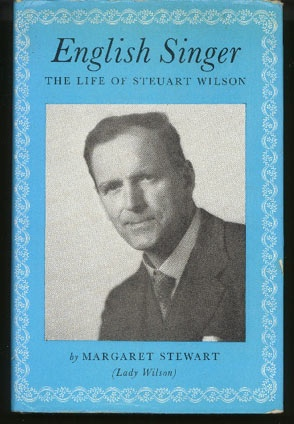 Image for English Singer. The Life of Steuart Wilson
