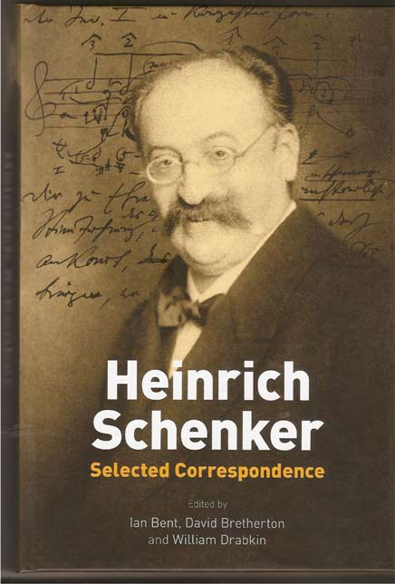 Image for Heinrich Schenker. Selected Correspondence