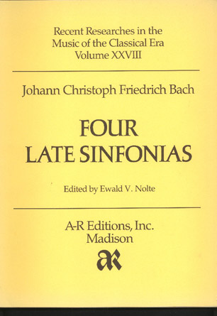 Image for Four Late Sinfonias