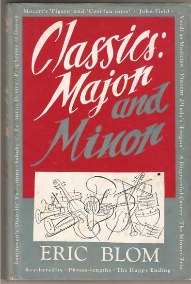 Image for Classics : Major & Minor - with Some Other Musical Ruminations