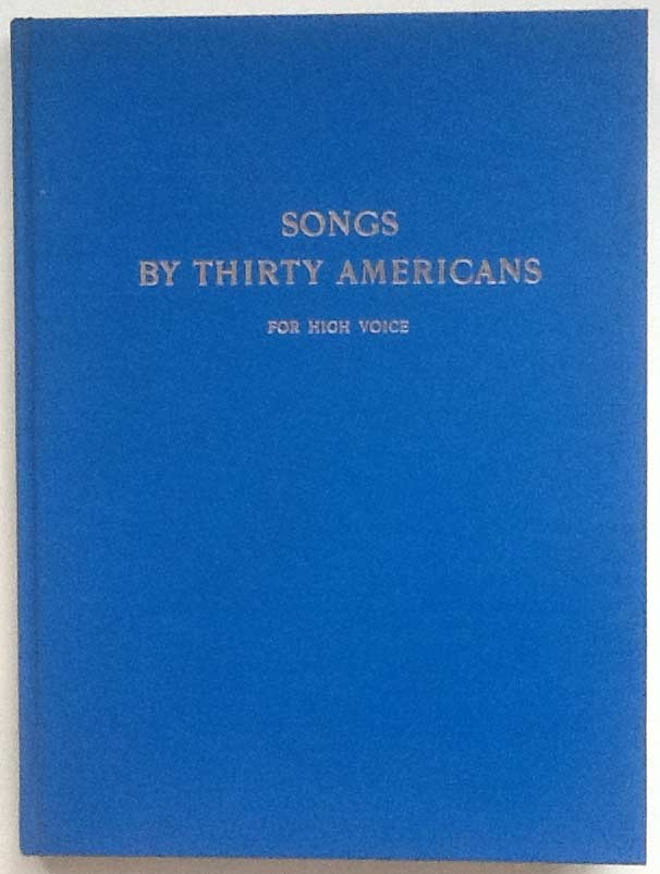 Image for Songs by Thirty Americans: for High Voice