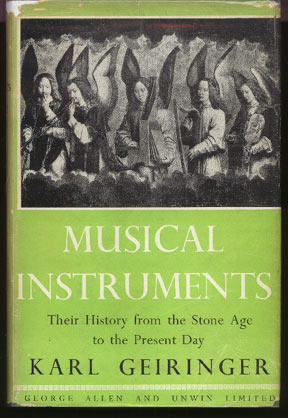 Image for Musical Instruments: Their History in Western Culture from the Stone Age to the Present Day.