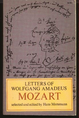 Image for Letters of Wolfgang Amadeus Mozart