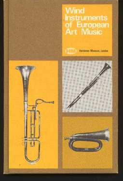 Image for Wind Instruments of European Art Music