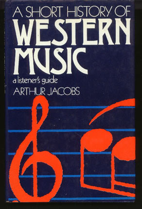 Image for A Short History of Western Music: a Listener's Guide