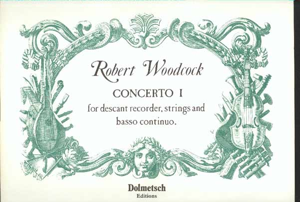 Image for Concerto I for Descant Recorder, Strings and Basso Continuo
