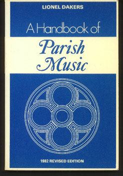 Image for A Handbook of Parish Music:  A Working Guide for Clergy & Organists