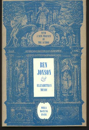 Image for Ben Jonson and Elizabethan Music