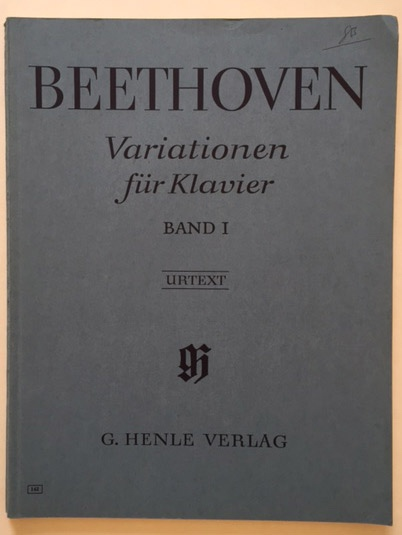 Image for Variationen Fur Klavier Urtext. 2 Vols