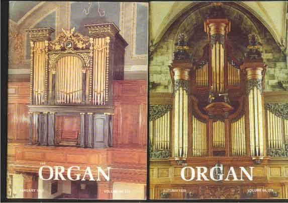 Image for The Organ: A Quarterly Magazine. Volume 69