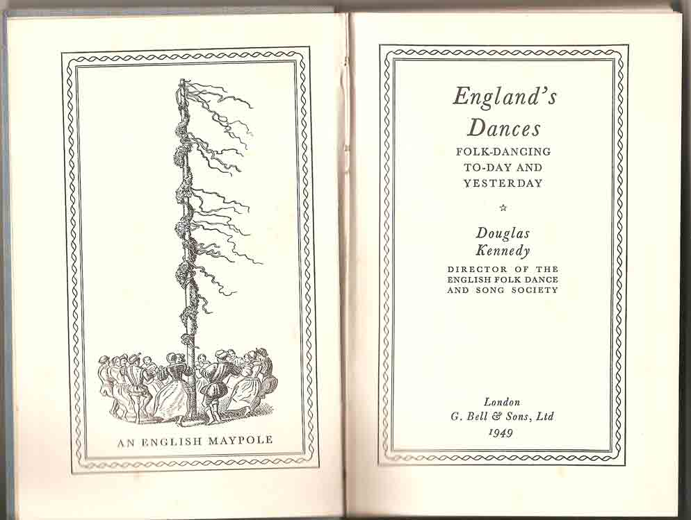 Image for England's Dances: Folk-Dancing To-Day and Yesterday