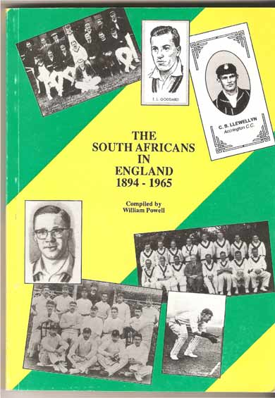 Image for The South Africans in England  1894-1965