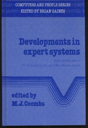 Image for Developments in Expert Systems : From a special issue of the International Journal of Man-Machine Studies
