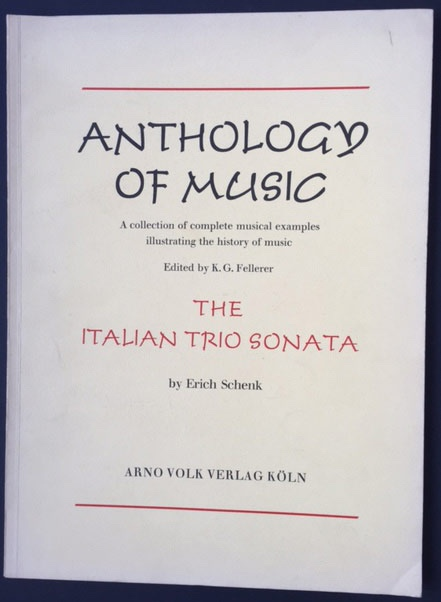 Image for The Italian Trio Sonata