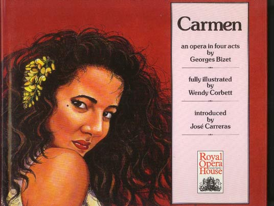 Image for Carmen: An Opera in Four Acts