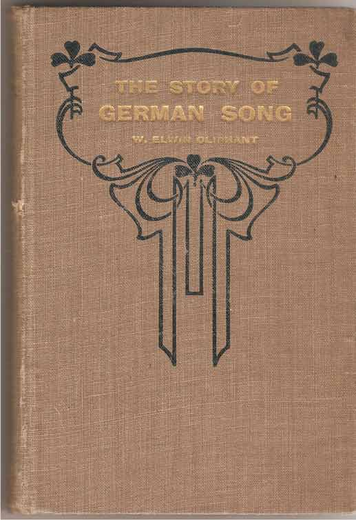 Image for The Story of German Song