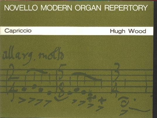 Image for Capriccio   Op 8  for Organ