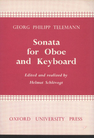 Image for Sonata for Oboe and Keyboard