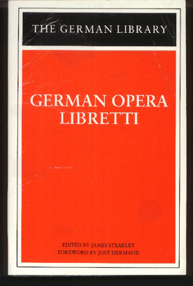 Image for German Opera Libretti