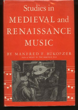 Image for Studies in Medieval and Renaissance Music