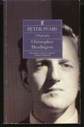 Image for Peter Pears: a Biography