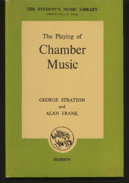 Image for The Playing of Chamber Music