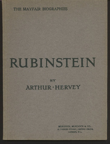Image for Rubinstein