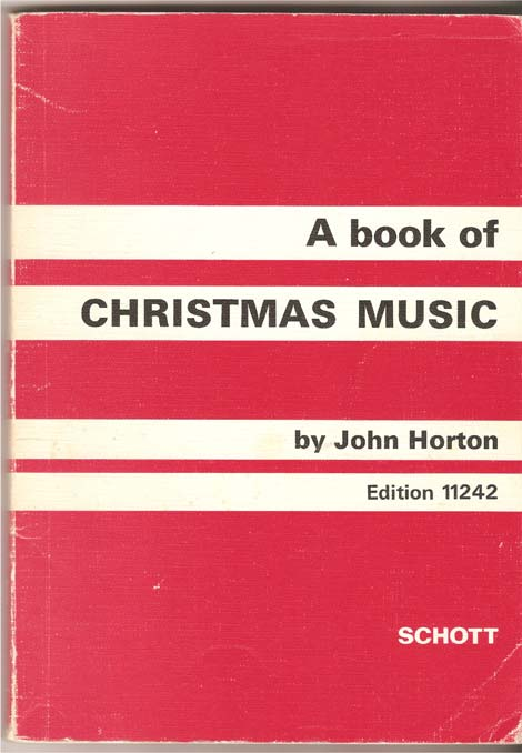 Image for A Book of Christmas Music