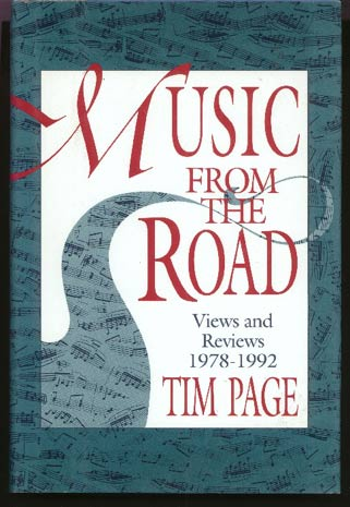 Image for Music from the Road: Views and Reviews, 1978-1992