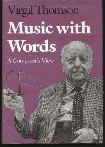 Image for Music with Words: a Composer's View