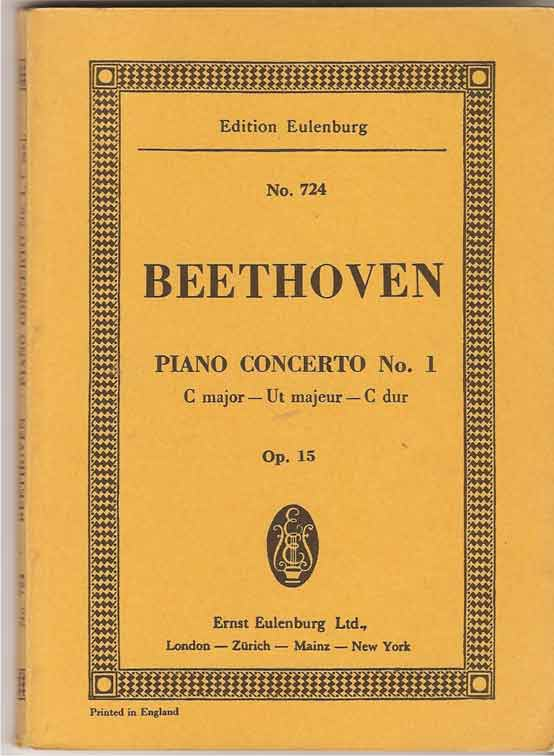 Image for Piano Concerto No 1 Op 15