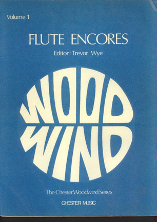 Image for Flute Encores  with Piano Accompaniment Volume 1